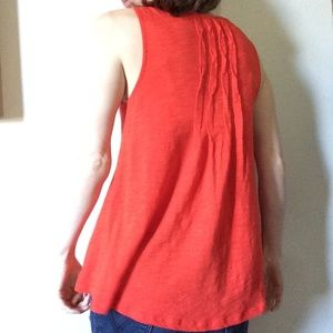 Anthropologie Tops - Anthropologie DELETTA Basic A-Line Pleated Blouse